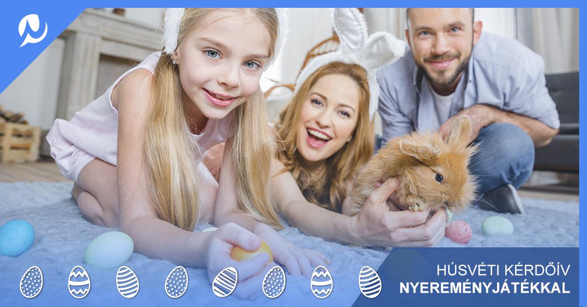 Húsvéti kérdőív nyereménysorsolással NetPanel